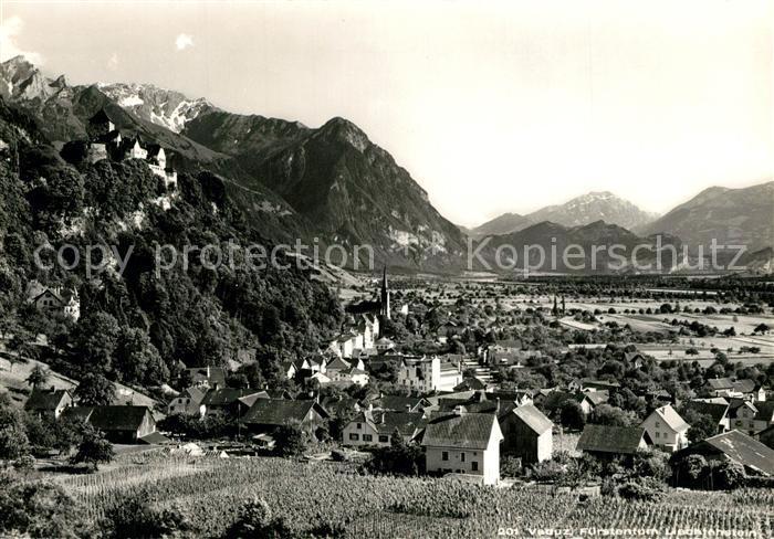 AK / Ansichtskarte Vaduz  Vaduz