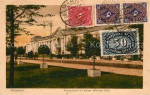AK / Ansichtskarte Duesseldorf Kunstpalast im Kaiser Wilhelm Park Duesseldorf