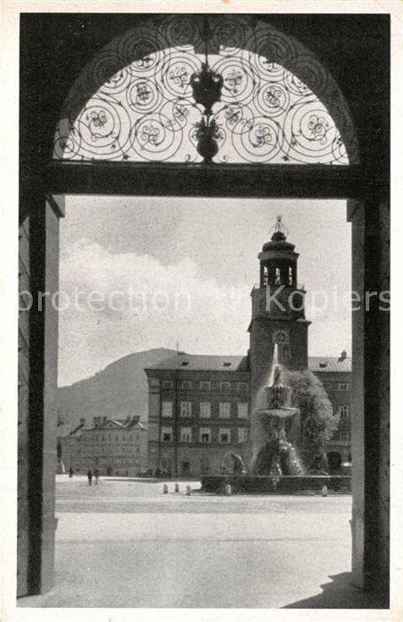 AK / Ansichtskarte Salzburg_Oesterreich Residenzbrunnen mit Glockenspiel Salzburg_Oesterreich