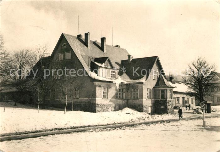 AK / Ansichtskarte Orlicke_Hory Destne hotel Narodni dum Orlicke Hory