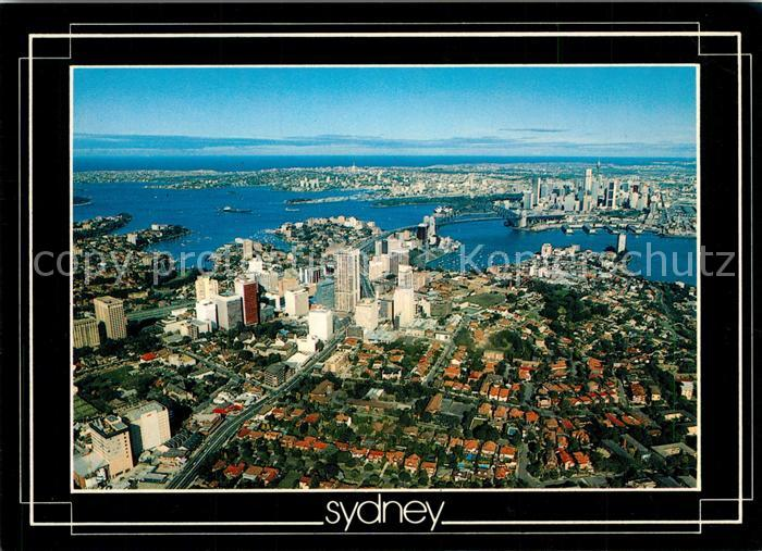 AK / Ansichtskarte Sydney_New_South_Wales Fliegeraufnahme Sydney_New_South_Wales