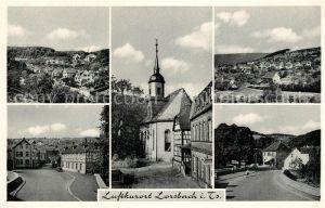AK / Ansichtskarte Lorsbach Kirche Lorsbach