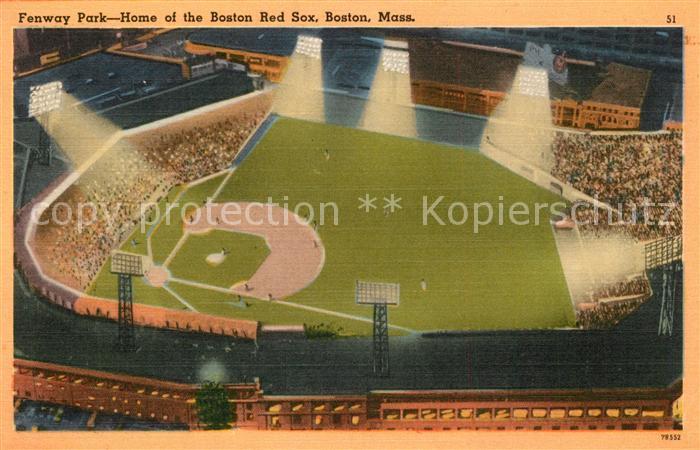 AK / Ansichtskarte Stadion Fenway Park Home Boston Red Sox  Stadion