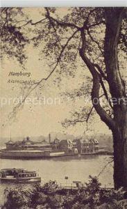 AK / Ansichtskarte Hamburg Alsterpartie Hamburg