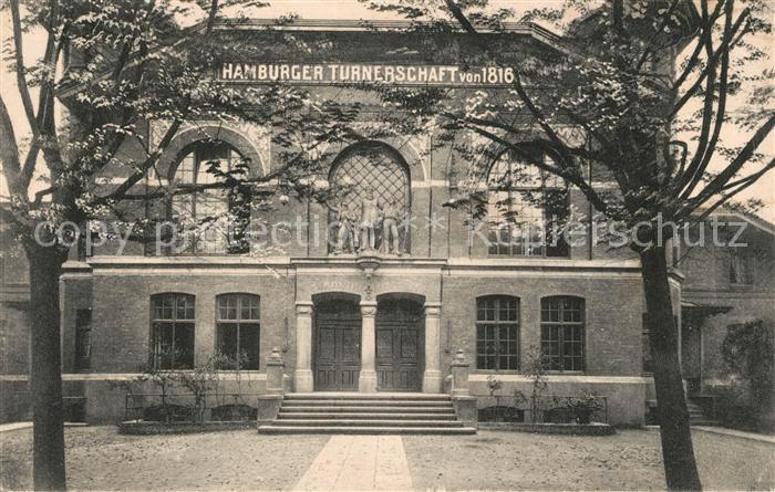 AK / Ansichtskarte Hamburg Hamburger Turnerschaft von 1816 St Georg Hamburg