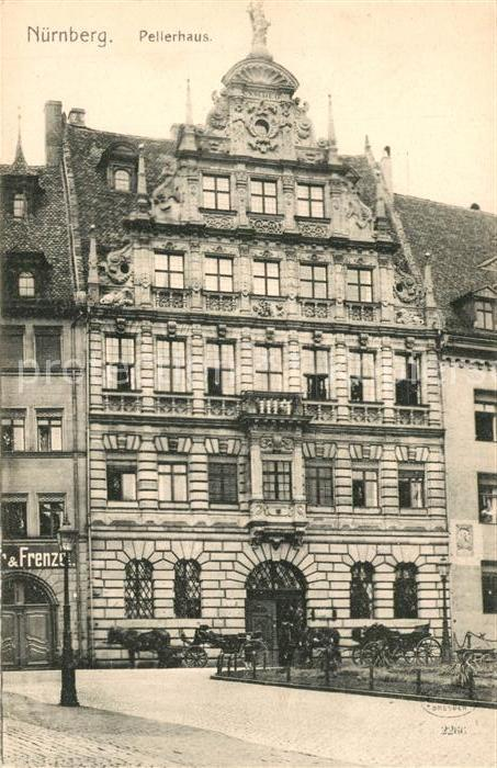 AK / Ansichtskarte Nuernberg Pellerhaus Baudenkmal Historisches Gebaeude Nuernberg