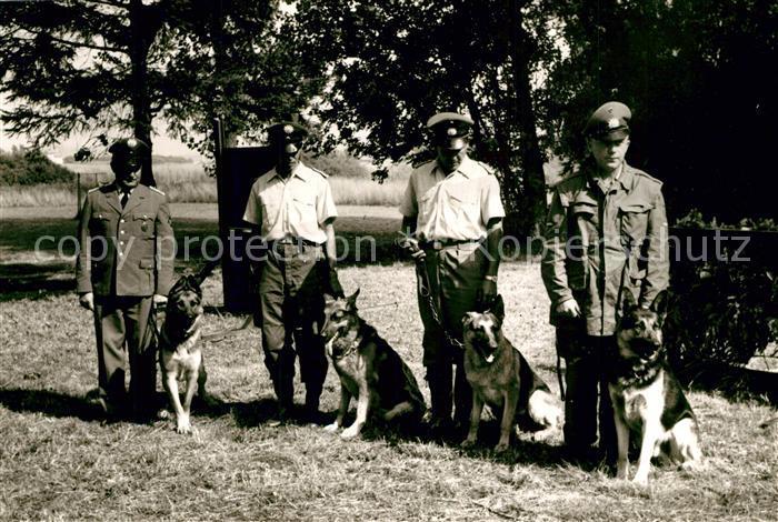 AK / Ansichtskarte Polizei Polizisten Schaeferhunde Wengerohr Polizeischule  Polizei