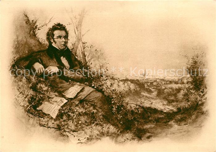 AK / Ansichtskarte Schubert_Franz  Schubert Franz