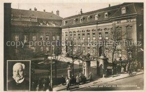 AK / Ansichtskarte Berlin Bildnis und Palais des Reichspraesidenten Paul von Hindenburg Berlin