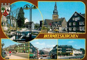 AK / Ansichtskarte Wermelskirchen Mammutkiefer Eich Koelner Strasse Telegrafen Strasse Wermelskirchen