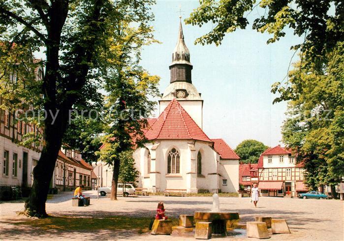 AK / Ansichtskarte Bad_Essen Kirchplatz Bad_Essen 0