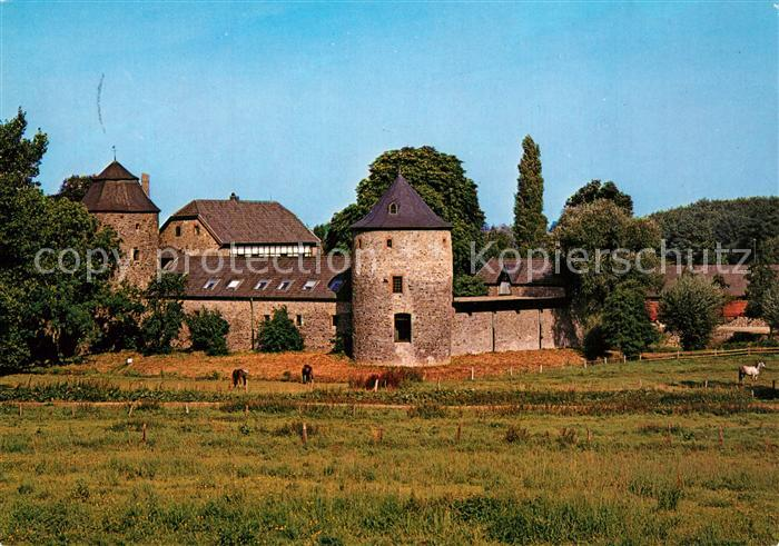 AK / Ansichtskarte Ratingen Wasserburg Haus zum Haus Ratingen