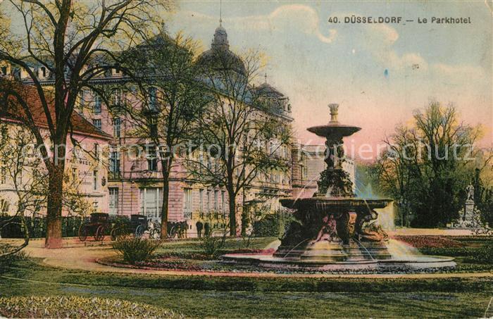 Duesseldorf Parkhotel Duesseldorf