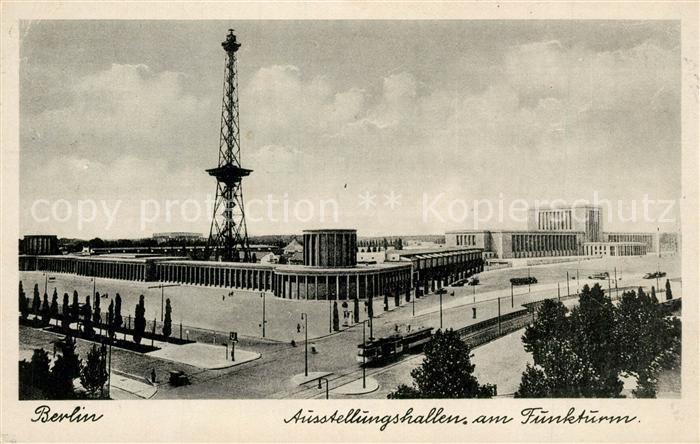Berlin Ausstellungshallen am Funkturm Berlin