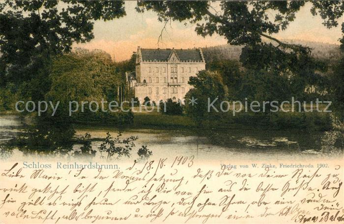 Reinhardsbrunn Schloss Reinhardsbrunn Reinhardsbrunn