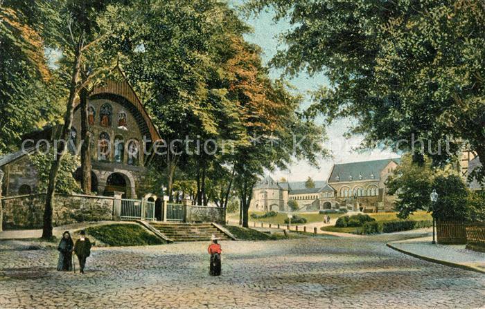 Goslar Domkapelle Kaiserhaus Soldatenbrief Goslar