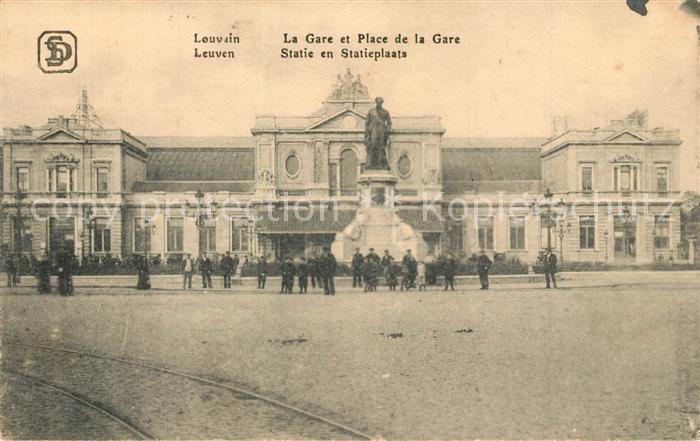 Leuven Statie en Statieplaats La Gare et Place de la Gare Leuven