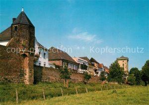 AK / Ansichtskarte Dormagen Zons am Rhein Wachtuermchen und Rheinturm Dormagen