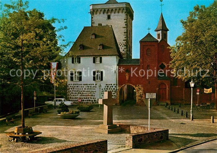 AK / Ansichtskarte Zons Rheintor Zons