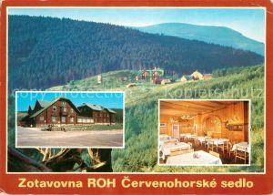 AK / Ansichtskarte Cervenohorske_Sedlo Zotavovna ROH Odborarska zotavovna ve vyhodne polozenem rekracnim