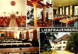 AK / Ansichtskarte Goersdorf_Liebfrauenberg Maison de Eglise Centre de Rencontres Maison Familiale de Vacances Goersdorf Liebfrauenberg