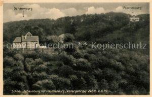 AK / Ansichtskarte Schloss_Schaumburg_Wesergebirge Paschenburg Schloss_Schaumburg