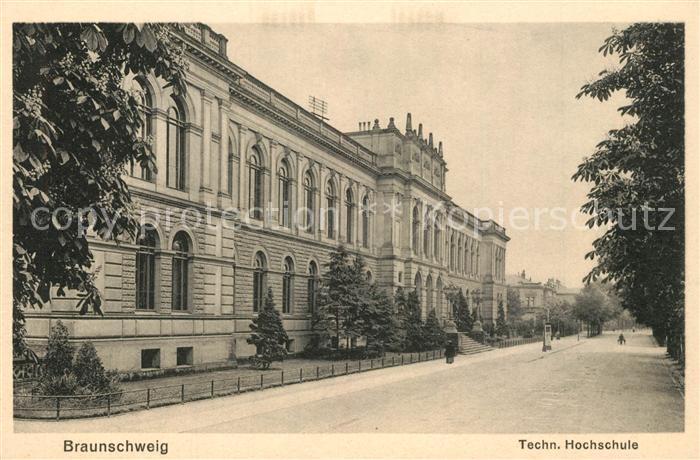 AK / Ansichtskarte Braunschweig Technische Hochschule Braunschweig
