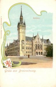 AK / Ansichtskarte Braunschweig Rathaus Braunschweig