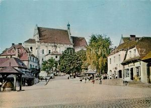 AK / Ansichtskarte Kazimierz_Dolny Marktplatz Kazimierz Dolny