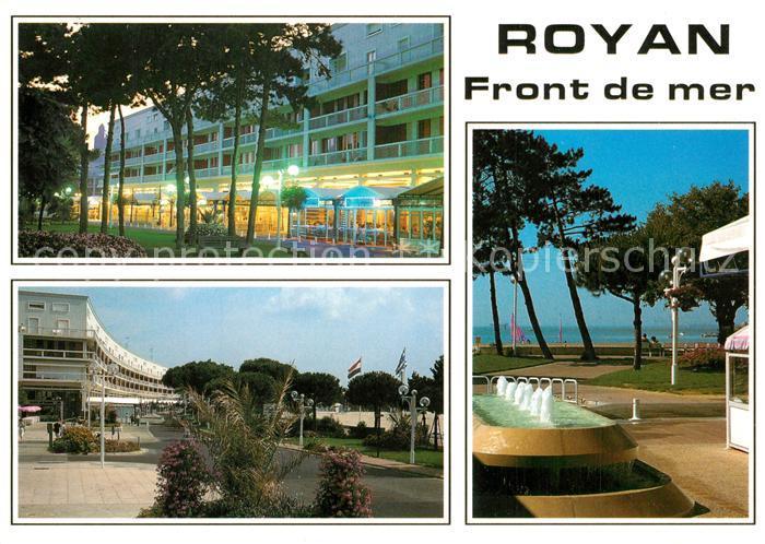 AK / Ansichtskarte Royan_Charente Maritime Grande plage Meer Hotelanlagen Royan Charente Maritime