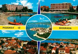 AK / Ansichtskarte Biograd Strand Hotelanlagen  Biograd