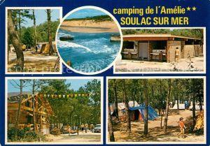 AK / Ansichtskarte Soulac sur Mer Camping Amelie Plage Soulac sur Mer