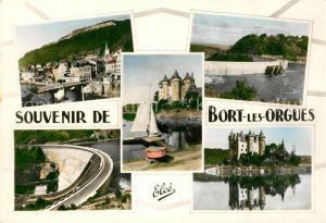 AK / Ansichtskarte Bort les Orgues Chateau Barrage  Bort les Orgues