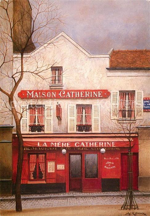AK / Ansichtskarte Paris Place du Tertre Paris