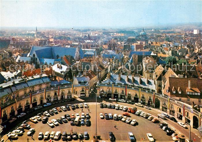 AK / Ansichtskarte Dijon_Cote_d_Or Place de la Liberation Vue generale aerienne Dijon_Cote_d_Or