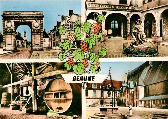 AK / Ansichtskarte Beaune d_Allier Vue partielle Beaune d Allier