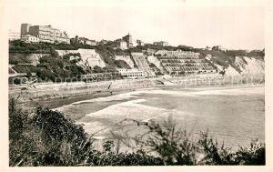 AK / Ansichtskarte Biarritz_Pyrenees_Atlantiques Panorama Cote des Basques Biarritz_Pyrenees
