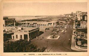 AK / Ansichtskarte Dieppe_Seine Maritime Vue generale de la Plage Dieppe Seine Maritime