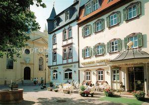 AK / Ansichtskarte Fulda Hotel Restaurant Goldener Karpfen Fulda