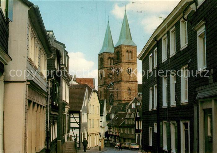 AK / Ansichtskarte Schwelm Koelner Strasse Christuskirche Schwelm