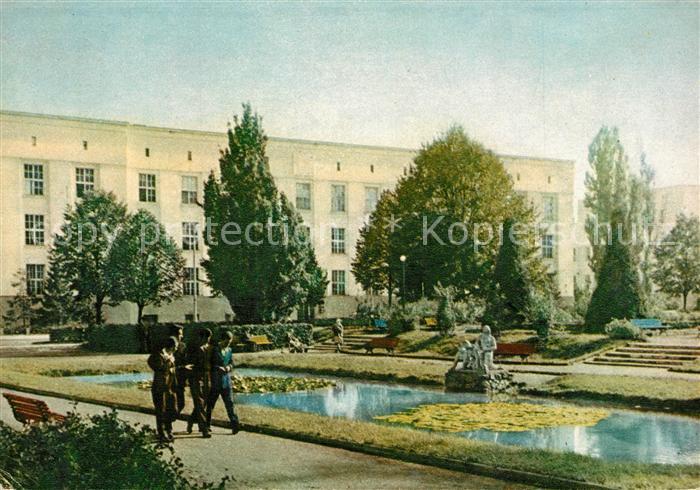 AK / Ansichtskarte Bialystok Parkanlage Denkmal Bialystok