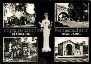 AK / Ansichtskarte Beauraing Vue partielle Notre Dame Beauraing
