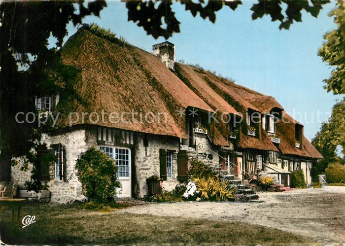 Maison normande toit de chaume ventana blog - Maison en toit de chaume ...