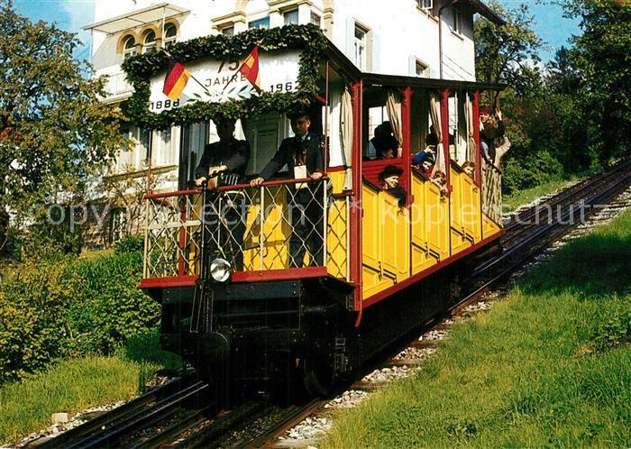 AK / Ansichtskarte Durlach Turmbergbahn Standseilbahn Durlach