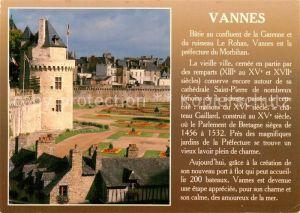 AK / Ansichtskarte Vannes Les jardins et la tour du Connetable Histoire Vannes
