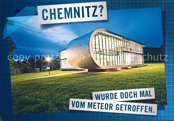AK / Ansichtskarte Chemnitz Projekthaus Meteor der Professur Arbeitswissenschaft der TU Chemnitz Architektur Chemnitz