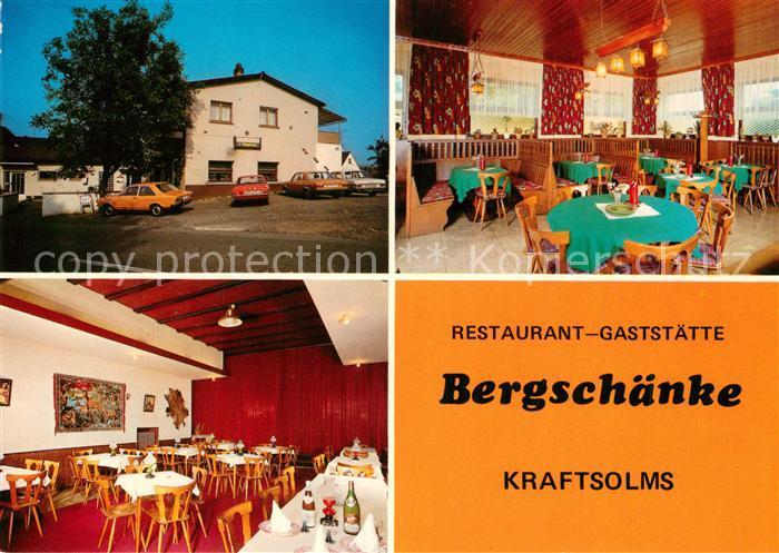 AK / Ansichtskarte Kraftsolms Gaststaette Bergschaenke Kraftsolms Nr ...