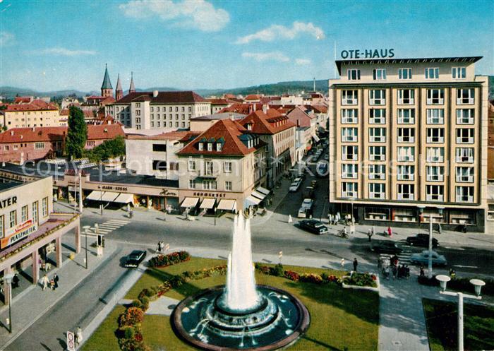 AK / Ansichtskarte Kaiserslautern Fackelrondell OTE Haus Kaiserslautern