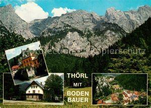 AK / Ansichtskarte Thoerl Bodenbauer Hochschwab Fliegeraufnahme Thoerl