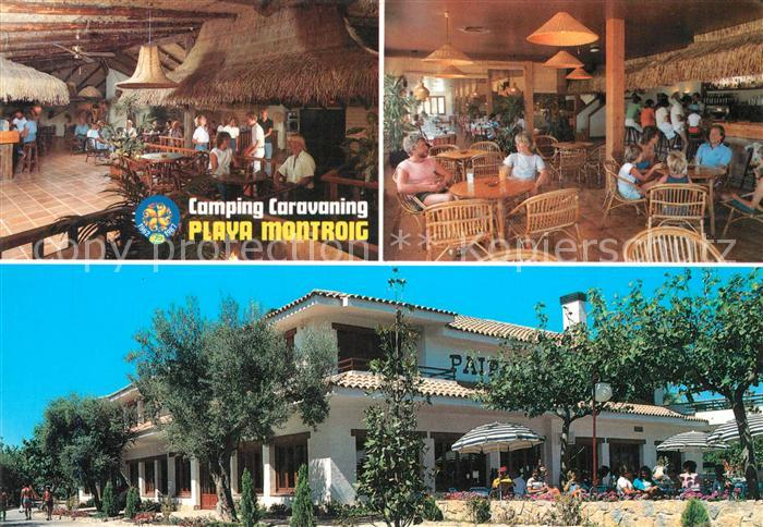 AK / Ansichtskarte Cambrils Camping Caravaning Playa Montroig Cambrils